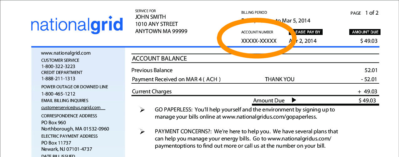 national grid massachusetts electric bill