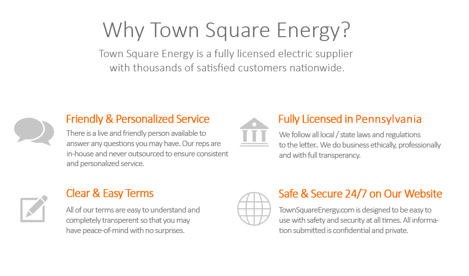 Town Square Energy Can Help with you electric bill