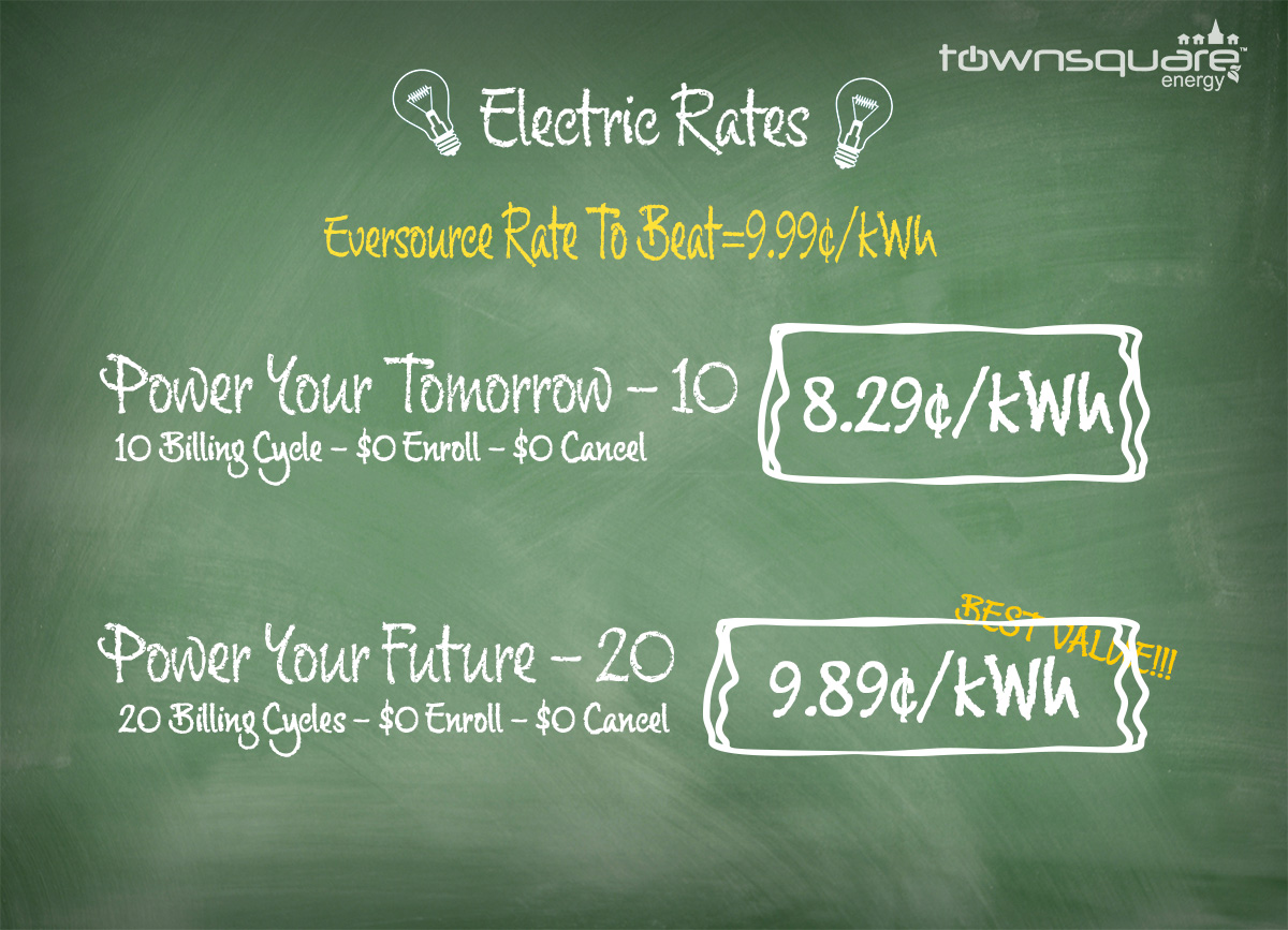 Town Square Energy Compare Electric Rates New Hampshire